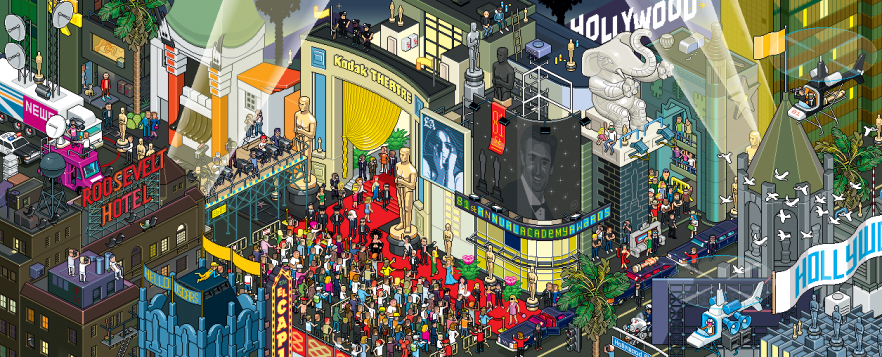 Pixel Art For Los Angeles Times Magazine Usa By Eboy Art