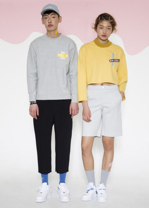 7dcde06f09fe Choi A Ra and Bang Joo Ho for Dim E. Cres Spring 2015 collection ...