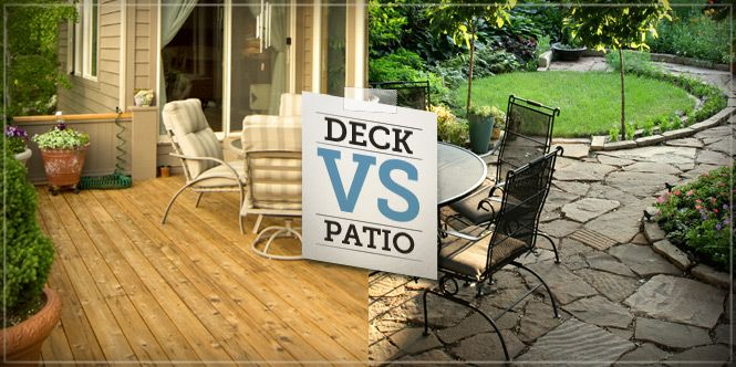 Porch Vs Deck Which Is The More Befitting For Your Home: A Deck Or Patio Can Really Extend Your Home's Living Space
