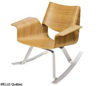Deco Nos Meilleures Adresses Shopping Au Quebec Elle Quebec Chaises Bercantes Modernes Chaise Moderne Mobilier De Salon