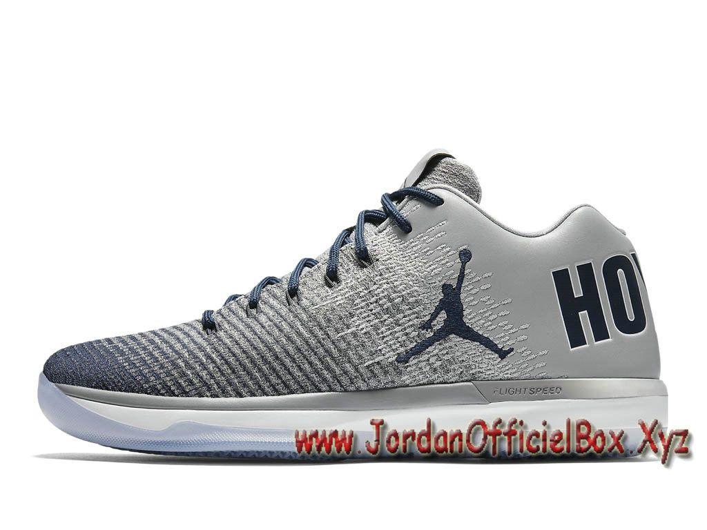 Air Jordan XXX1 Low ´Georgetown´ 897564_007 Homme Nike Jordan Pas cher Pour  Gris-