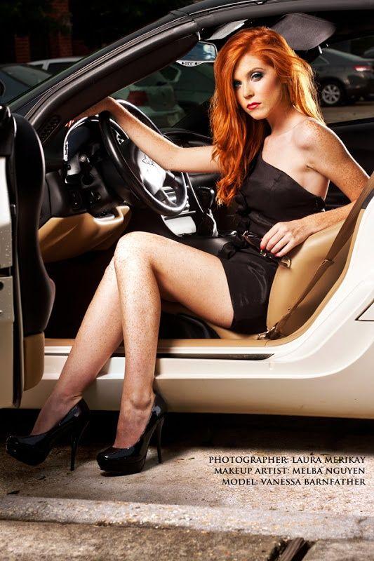 Redhead latina vanessa
