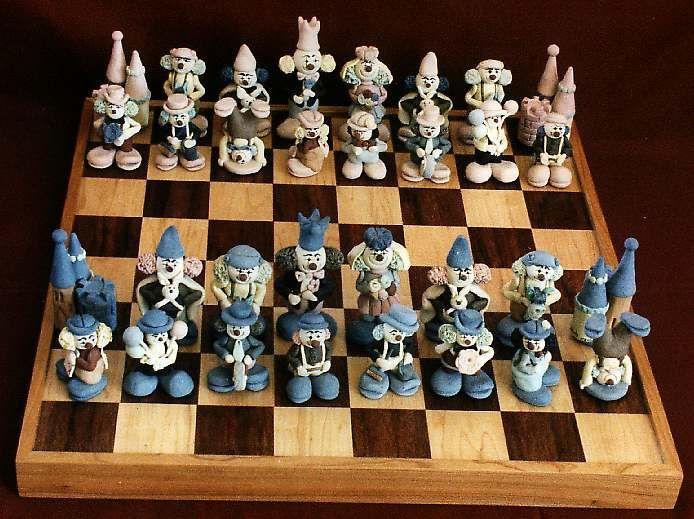 clown chess set  http://www.roleplaying.company