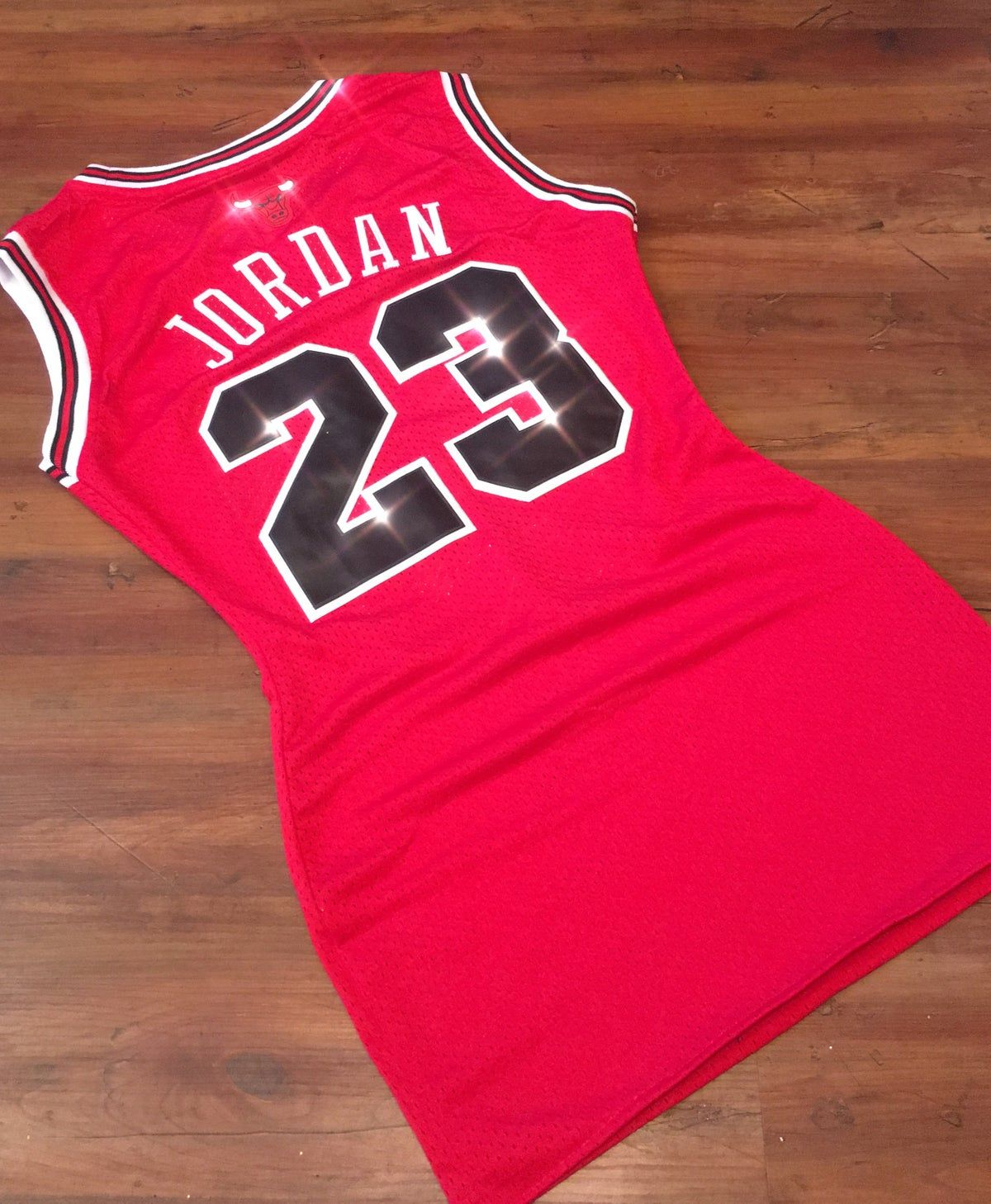 Jordan Bulls Nba Jersey Dress Plain And With Lace Up Option Please Read Jersey Dress Outfit Cute Nike Outfits Sporty Outfits