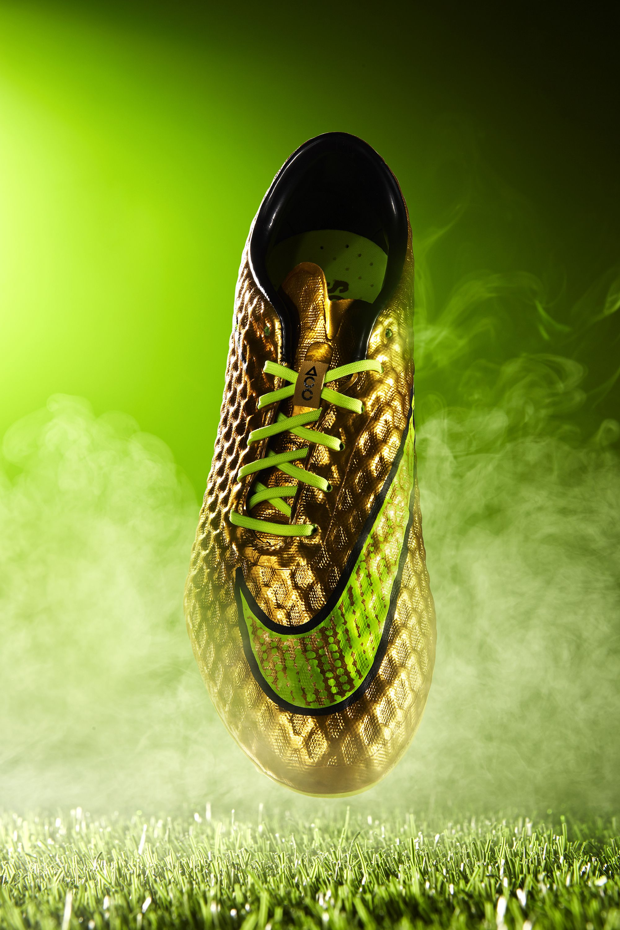 Commercial Photography Shoes Football Soccer Smoke
