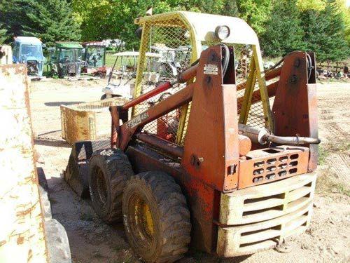 Gehl 4500 skid steer - salvage used parts | Gehl Ag Equipment