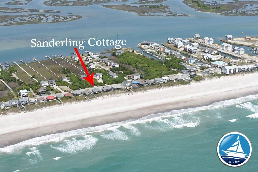 Sanderling Cottage 1115 N Anderson Blvd 2295 For Our Week In 2016 6 Houses North Of Schoonderwoerd Cottage Beach Oceanfront