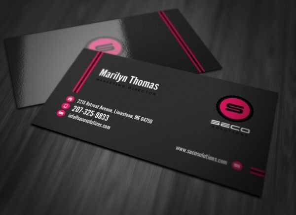 Professional business card template business card insperation professional business card template cheaphphosting Image collections