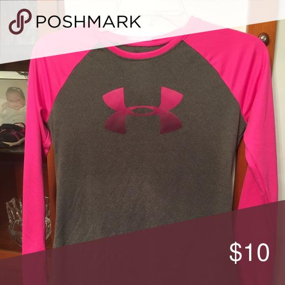 long  sleeve t shirt Good condition heat gear shirt Under Armour Shirts & Tops Tees - Long Sleeve