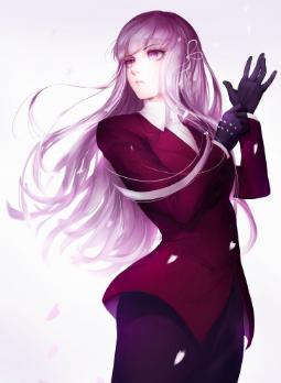 The Purple King Discontinued Danganronpa Anime Purple Hair Anime