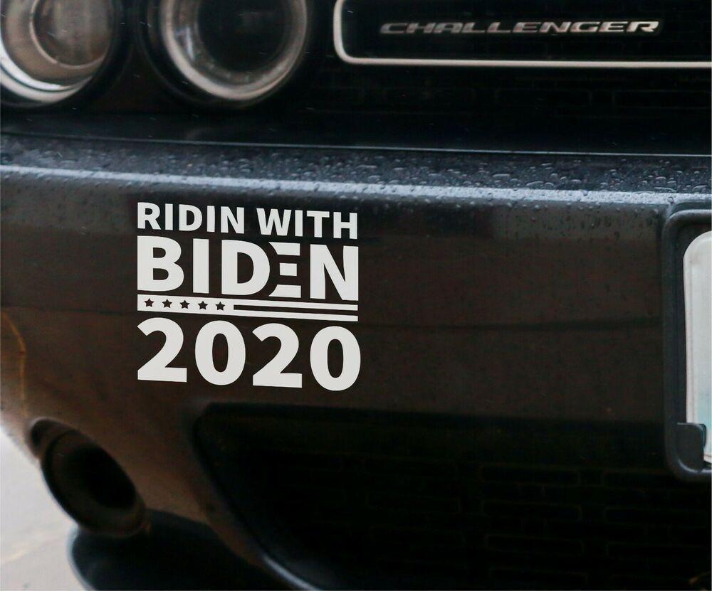 Joe Biden For President 2020 Democratic Bumper Sticker Pack Of 2 Truck Graphics Bumper Stickers Vinyl Graphics [ 831 x 1000 Pixel ]