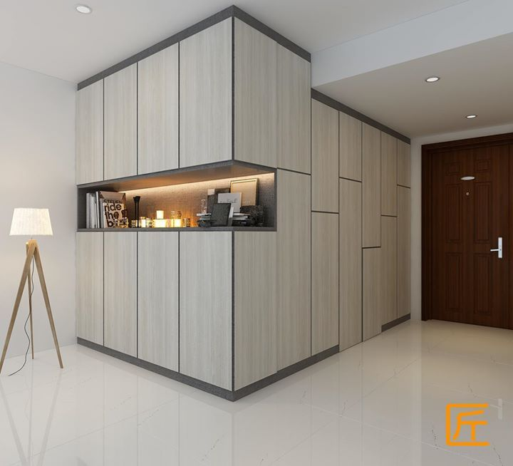 """Living Room Cabinet Design Singapore: Another Idea For A """"hidden Shelving"""" Wall Cupboard System"""