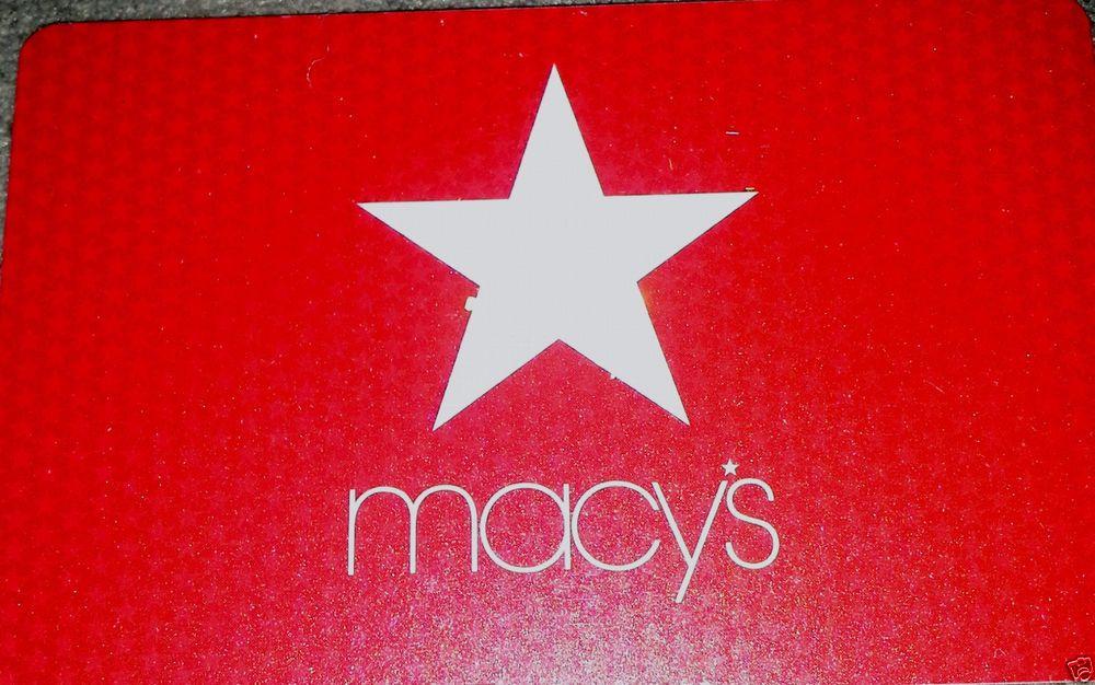 1000 macys gift card buy it now 850 macys gifts