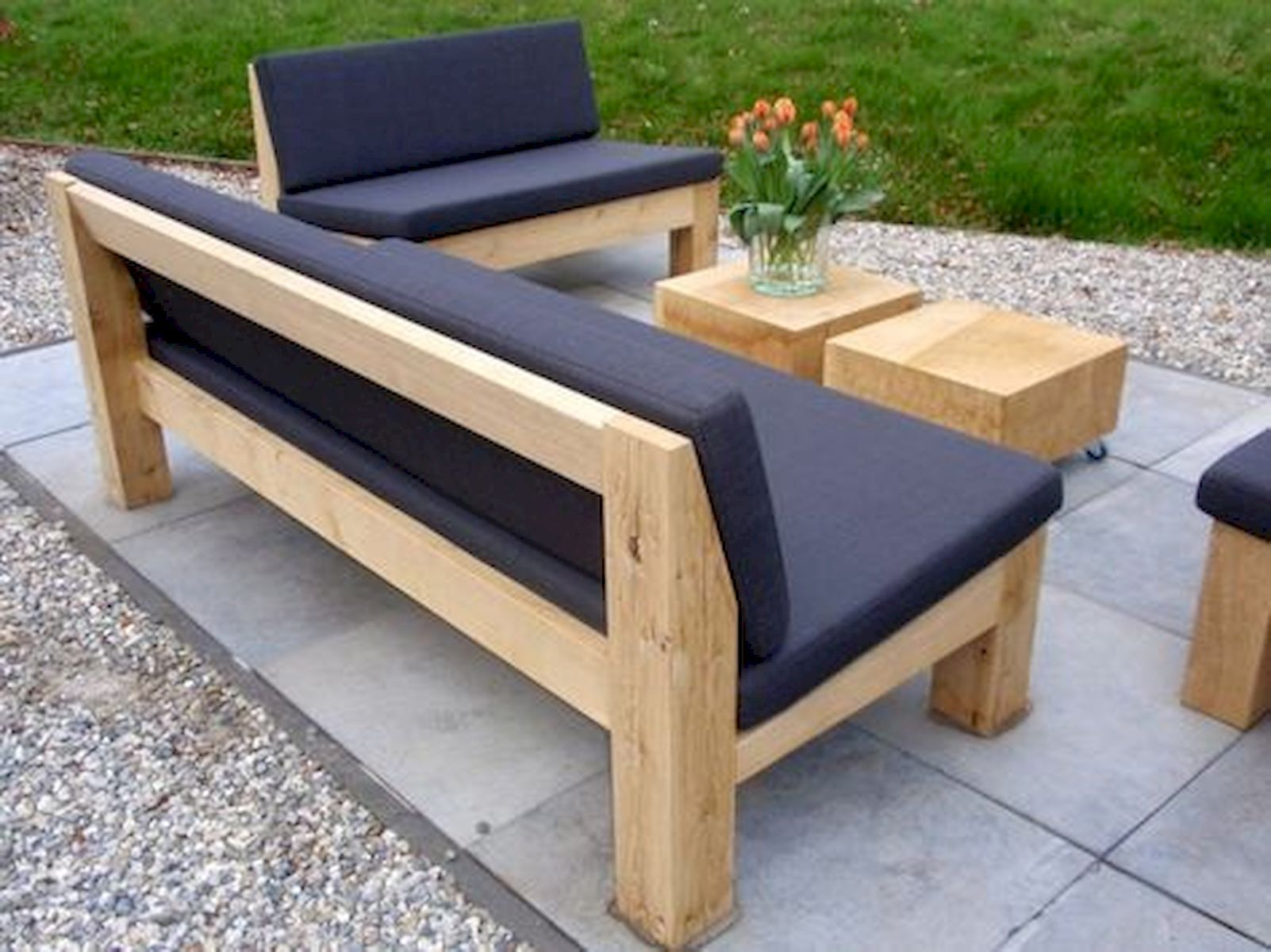 18 Amazing DIY Projects Outdoors Furniture Design Ideas  Canapé