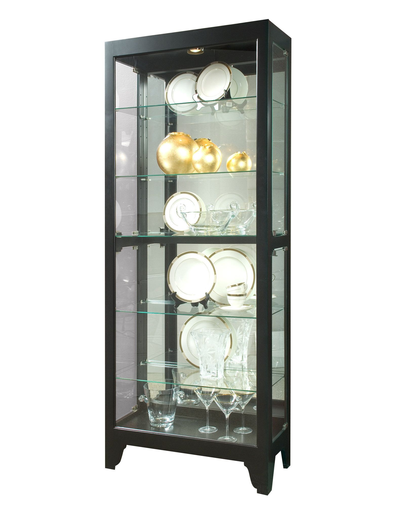 Melissa Mirrored Display Cabinet