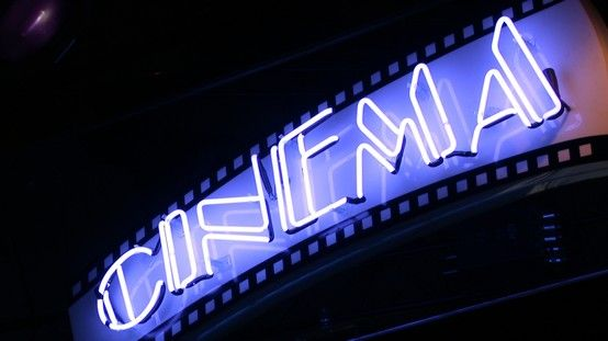 Neon Cinema Sign  neon sign generator | Day by day in 2019 | Cinema