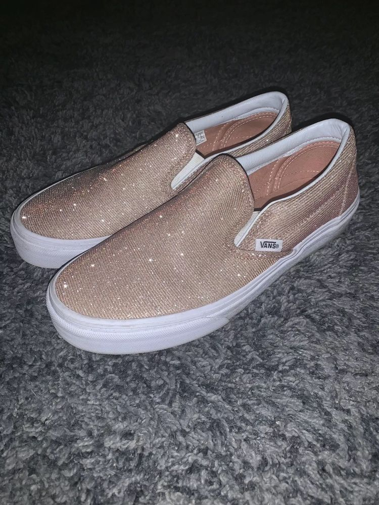 Sparkly) Rose Gold Shoes Womens