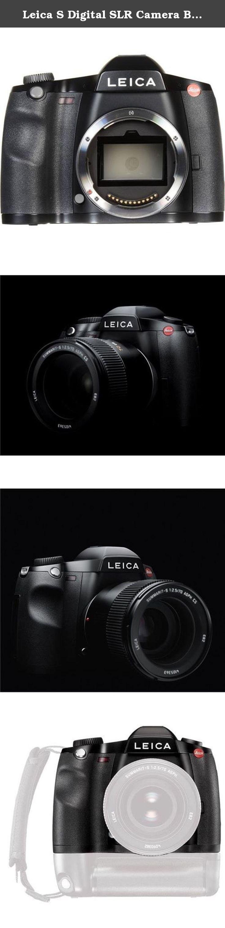Leica S Digital Slr Camera Body Typ 007 The Leica S Digital Slr Camera Body The Fastest Medium Format Digital Camer Increase Image Digital Slr Camera Leica