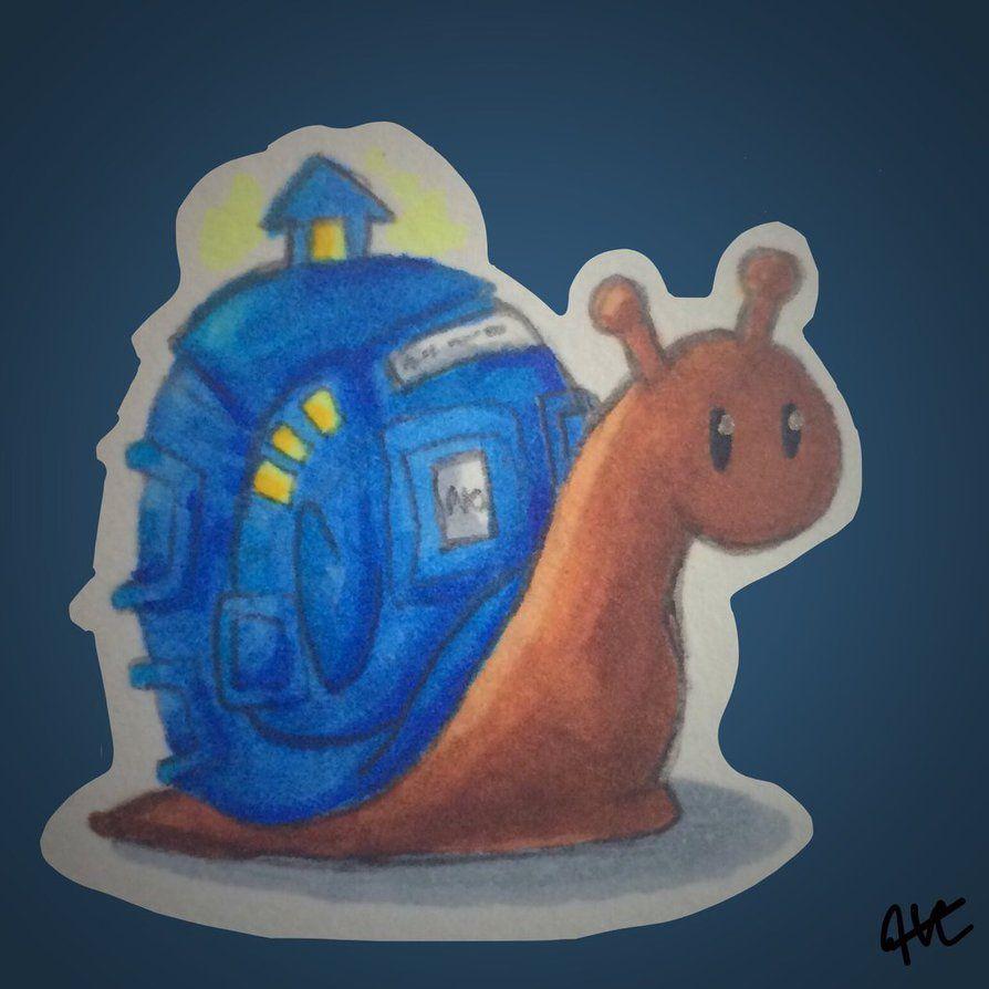 Time Snail by Godsgirl4444 on DeviantArt
