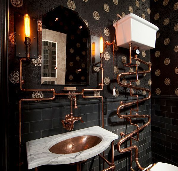 Photo of Steampunk Interior Design Ideas: Van cool tot gek, #Cool #Design #gek #Ideas #interior #Stea …