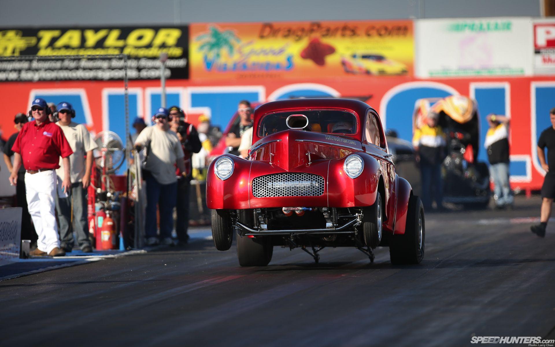 Drag race hot rod launch wheelie race car drag strip wallpaper
