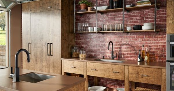6 Easy Kitchen Trends To Try This Year Via Purewow Rustic Kitchen Rustic Kitchen Decor Kitchen Remodel