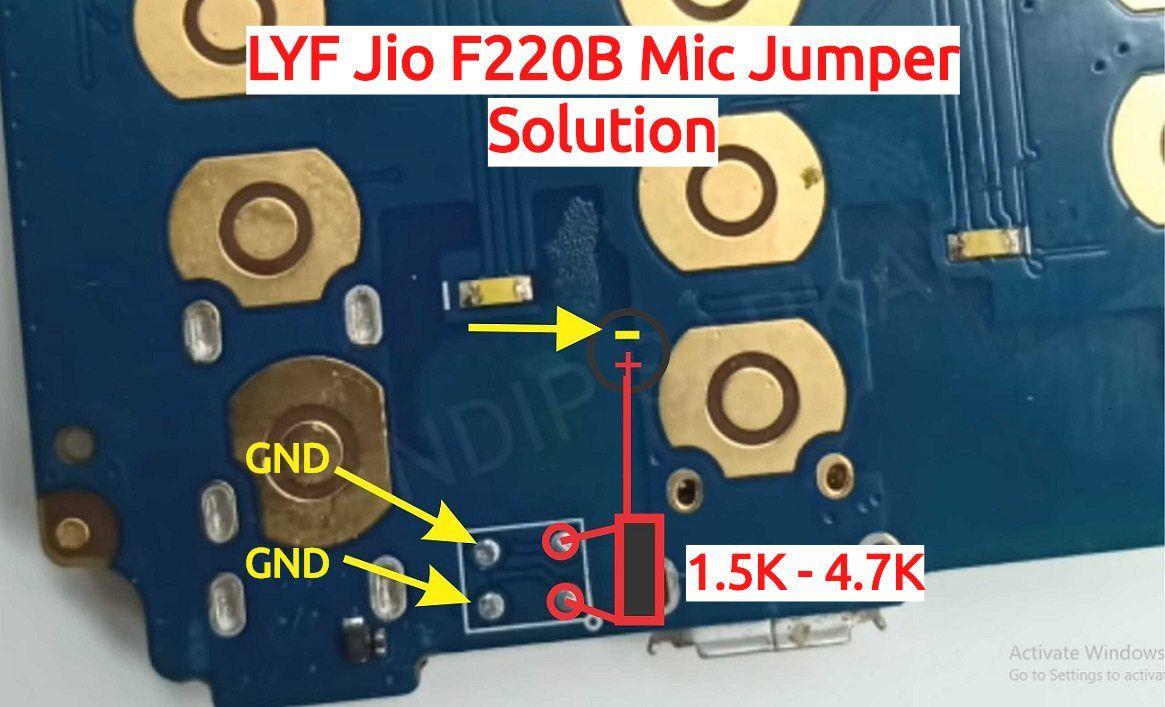LYF Jio F220B Mic Ways Solution How To Install China Mic