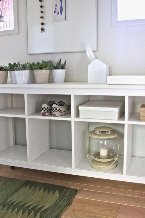 Decoraci n f cil un recibidor decorado con muebles de ikea ideas para decorar casa - Ideas decoracion ikea ...