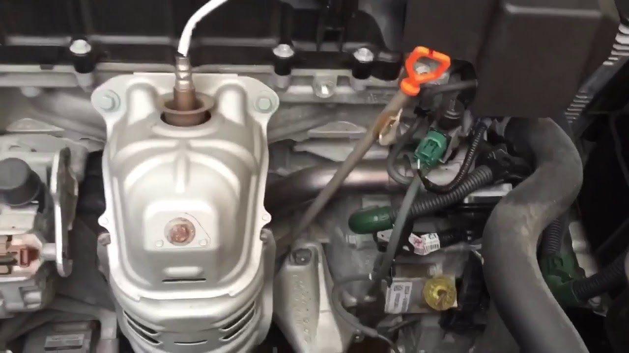 2013 2016 Accord 4Cyl CVT Transmission Fluid Change