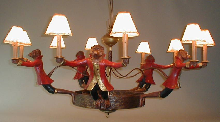 Monkey chandelier google search mad house decor pinterest monkey chandelier google search mozeypictures Gallery