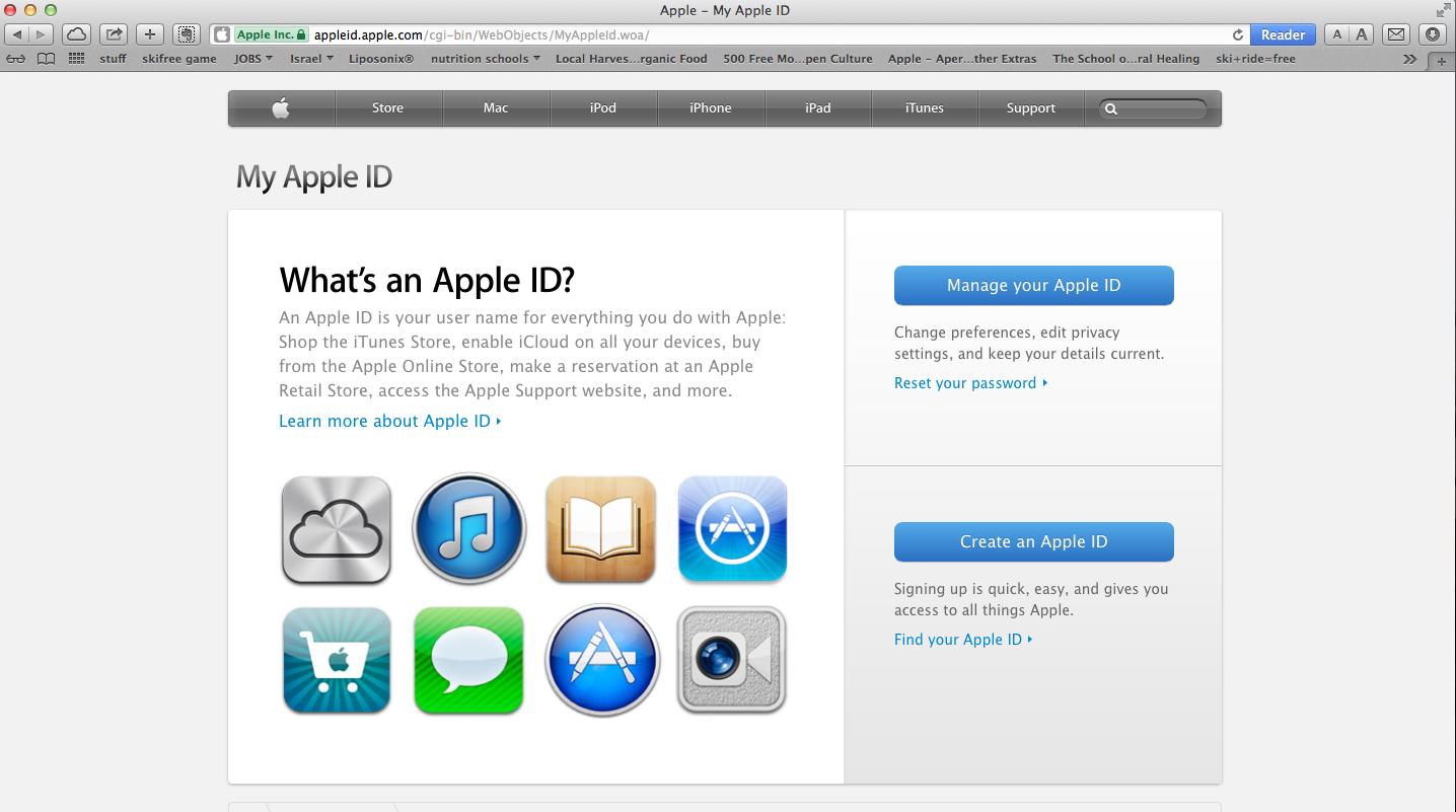 How Do I Get To My Apple Id Account Page