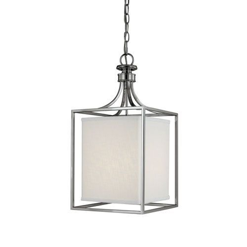 Midtown Polished Nickel TwoLight Lantern Pendant Kitchen Design - Two light pendant kitchen