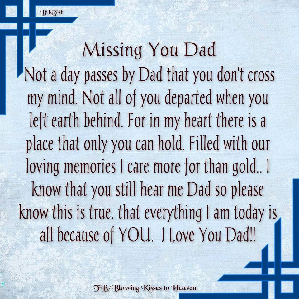 I Miss You Daddy Everyday Orange Jay Holloway Jr Rip Daddys Girl