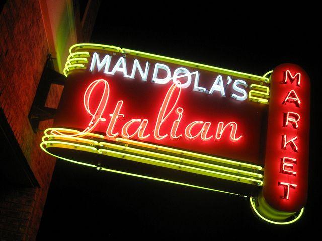 Mandola S Neon Signs Cool Neon Signs Vintage Neon Signs