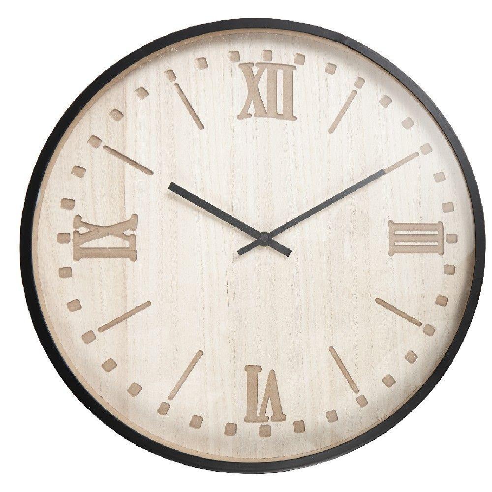 Table Horloge Horizontale Chiffres Romains Tendance