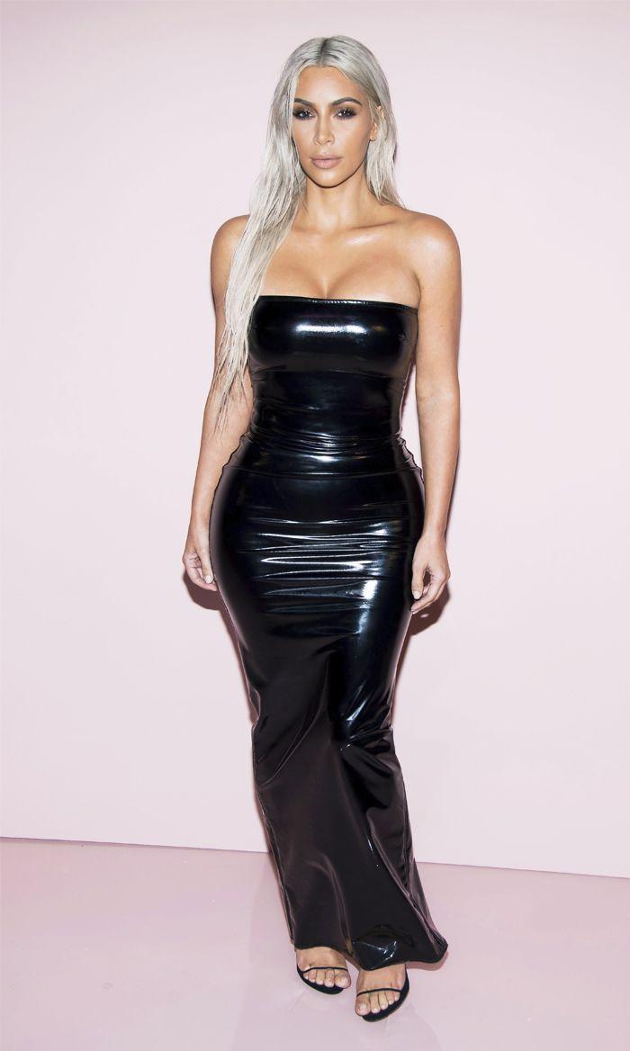 Kim Kardashian-West Just Wore Her Most Extreme Dress Yet