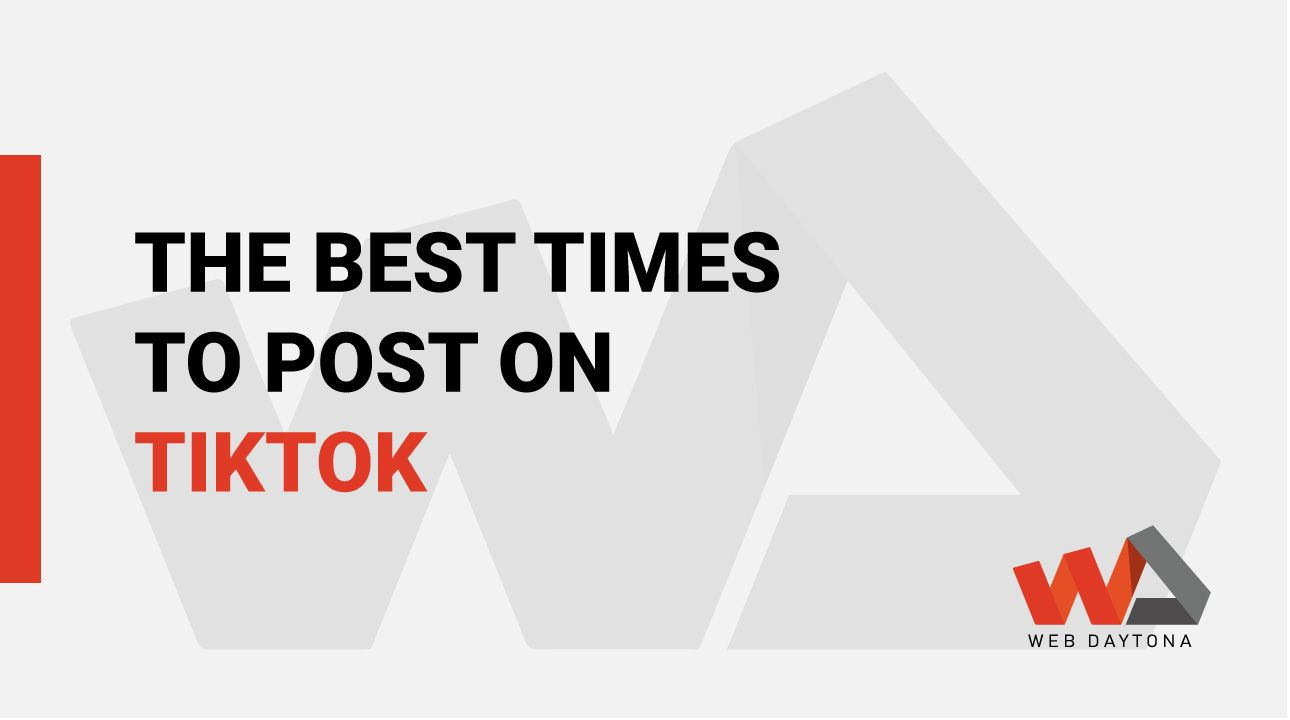 When Should I Post On Tiktok Best Time To Post Post Home Decor Decals