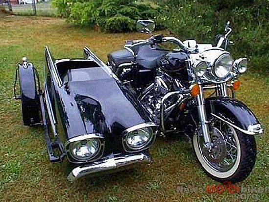 Beautiful H D  and sidecar | other moter stuff | Sidecar