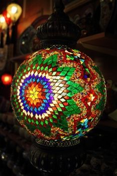 Traditional lamp in Turkey