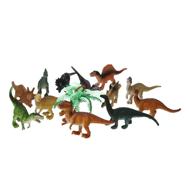 Dinosaur Toy Set PVC Model Action Figure Toys Children Educational Toy 12pcs//lot