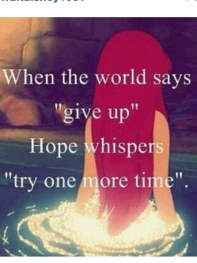 short inspirational quotes from the little mermaid ...