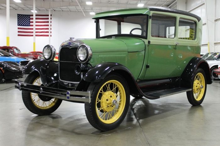 1929 Ford Model A Fully Restored Mechanics And Exterior