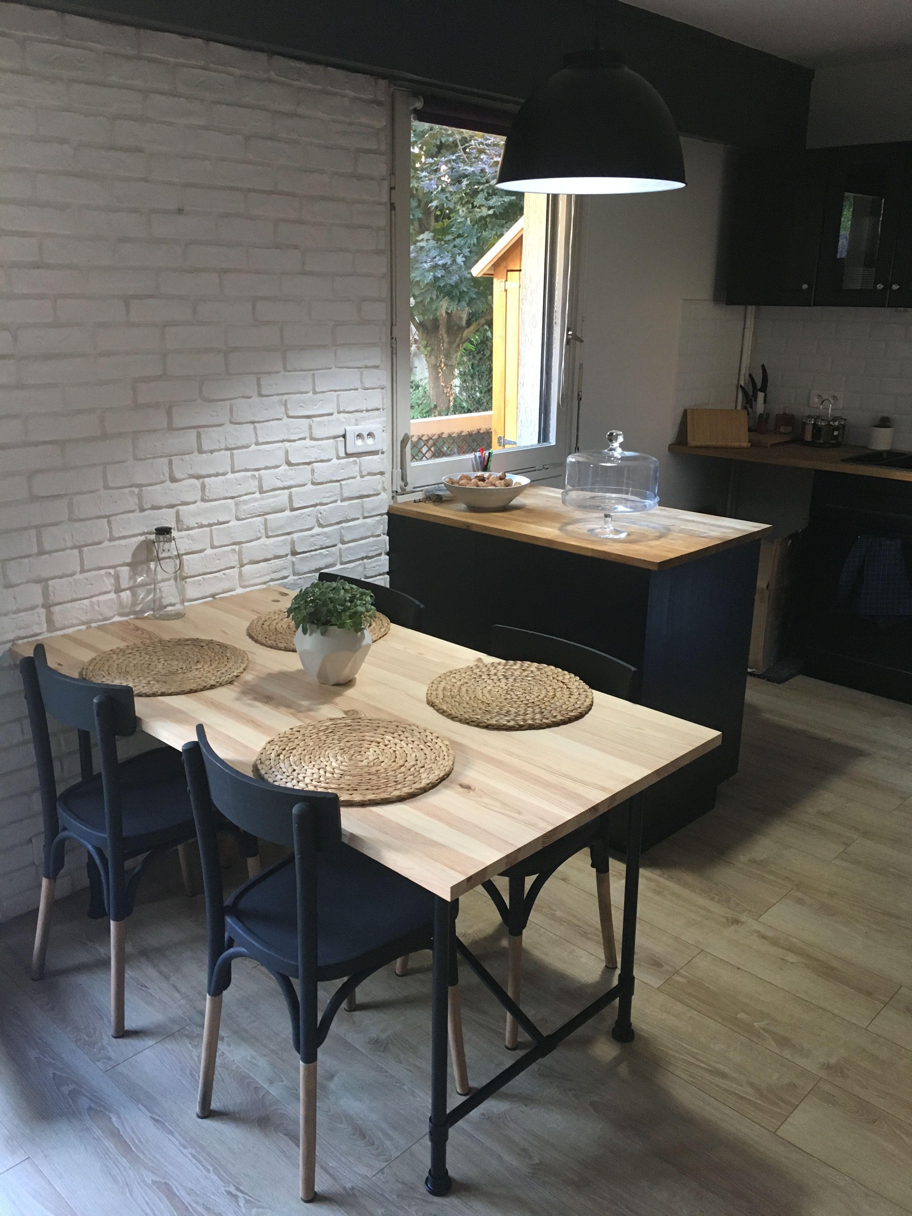 cuisine ikea table pieds ikea