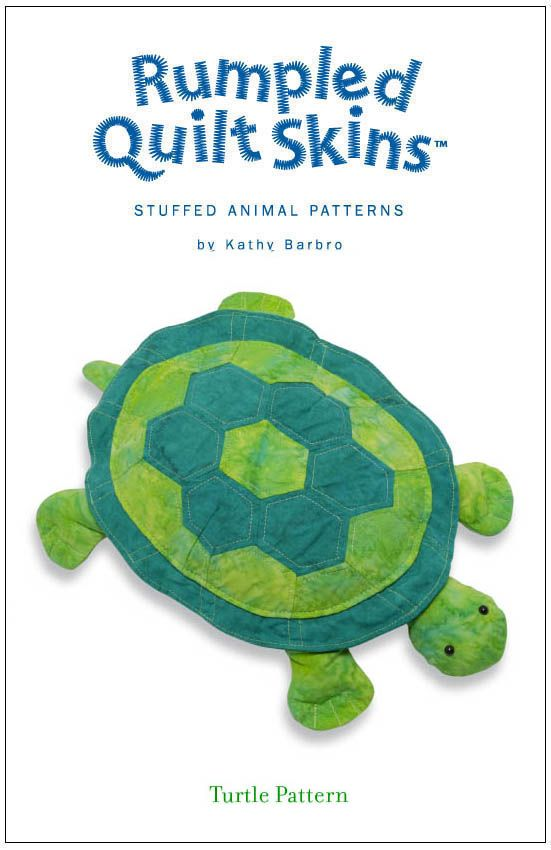 Thinking of designing my own pattern of a sea turtle to make for ... : rumpled quilt skins - Adamdwight.com