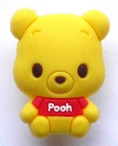 90e456e369c Cutie Pooh Bear Disney Jibbitz Crocs Hole Bracelet Shoe Charm by Disney.  $6.99