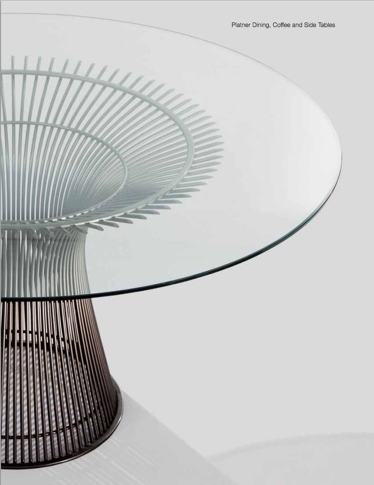 Platner Dining Table Knoll Designer Warren Platner 1966