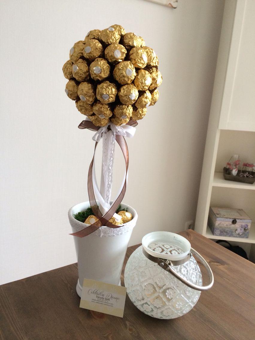 Ferrero Rocher Tree | Party Ideas | Pinterest | Craft