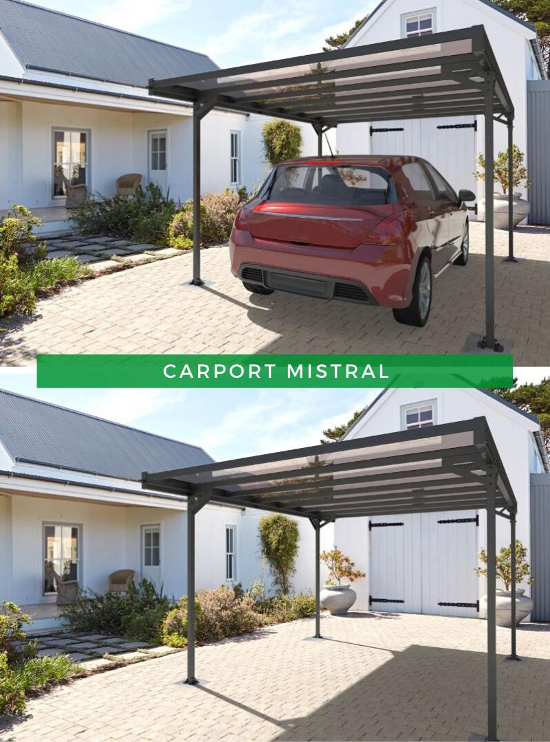 Carport Mistral in 2020 Carport überdachung, Carport