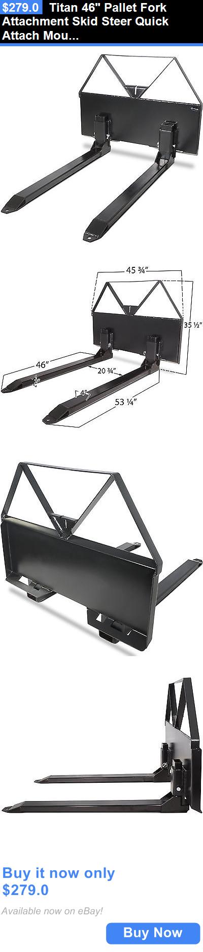 Patio, Lawn & Garden Titan 46 Pallet Fork Attachment Skid