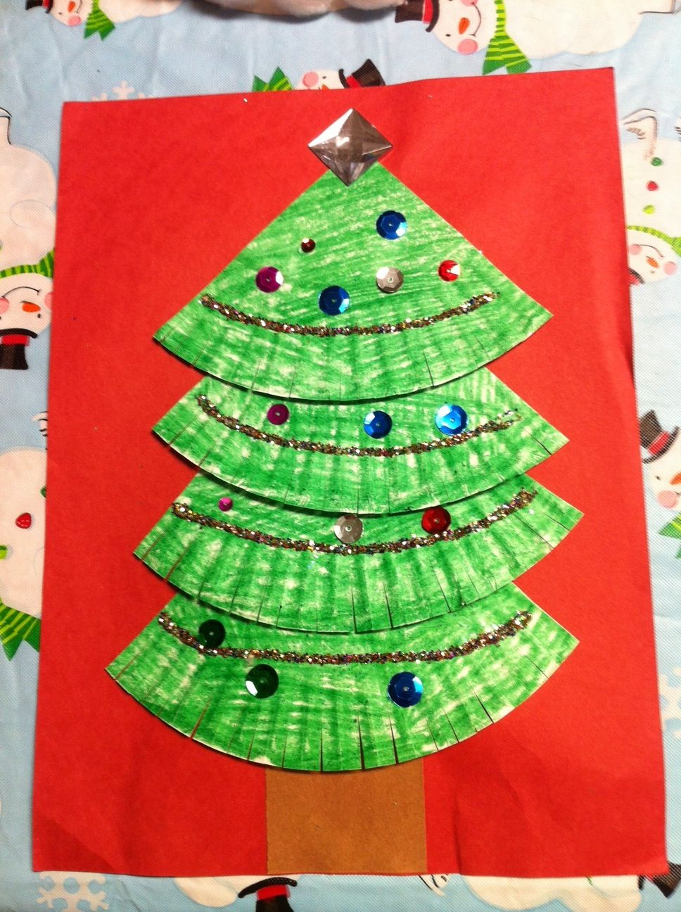 christmas arts and crafts ideas for kindergarten
